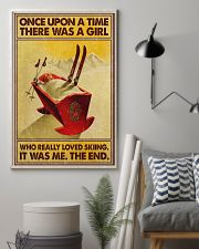 Skiing once upon a time 16x24 Poster lifestyle-poster-1