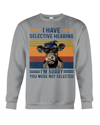 Cow I Have Selective Hearing