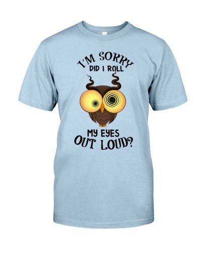 Owl I'm Sorry Did I Roll