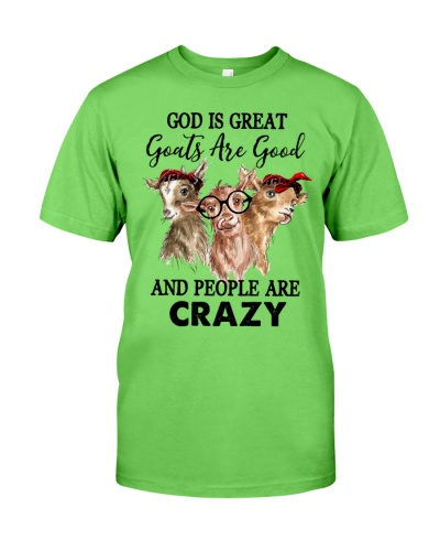 Goat God Is Great Goats Are Good