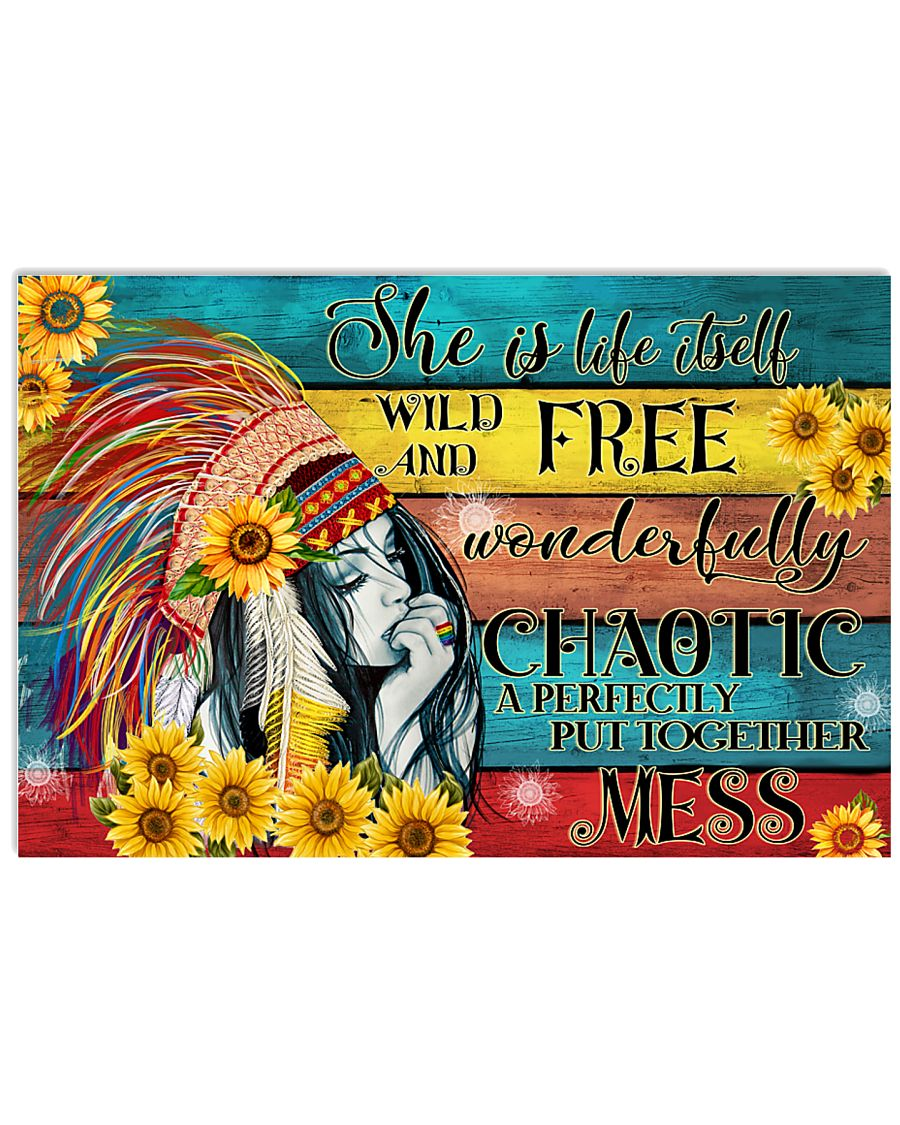 Hippie Wonderfully Chaotic 24x16 Poster