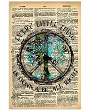 Hippie Every Little Thing Is Gonna 16x24 Poster front