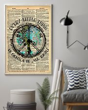 Hippie Every Little Thing Is Gonna 16x24 Poster lifestyle-poster-1