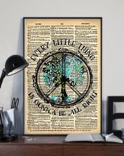 Hippie Every Little Thing Is Gonna 16x24 Poster lifestyle-poster-2