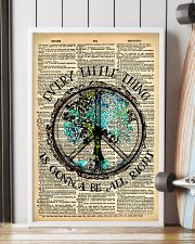 Hippie Every Little Thing Is Gonna 16x24 Poster lifestyle-poster-4