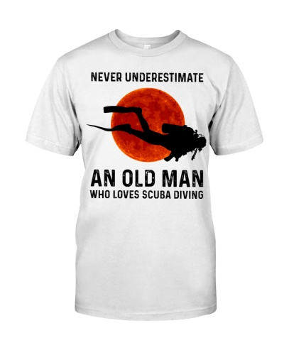 Scuba diving Never underestimate an old man