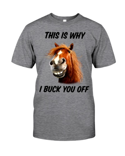 Horse This Is Why I Buck You Offf