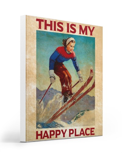 Skiing This Is My Happy Place