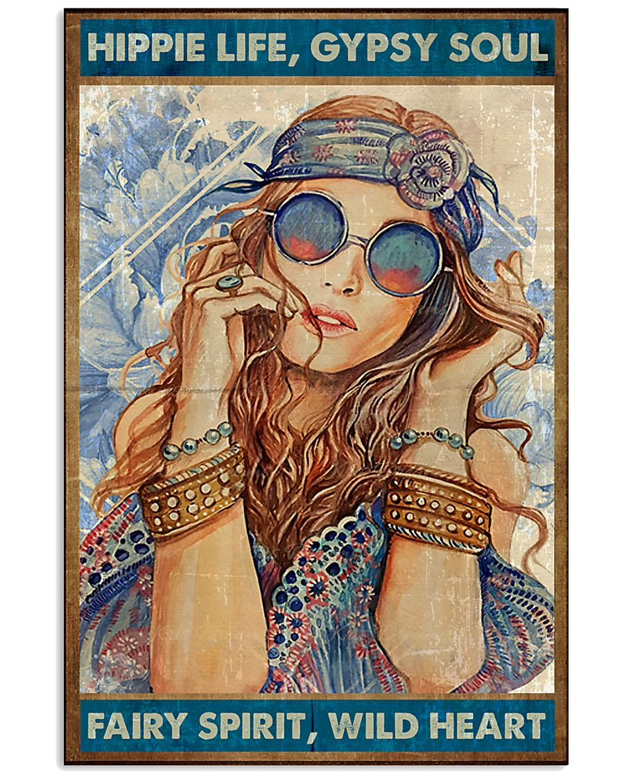 Hippie Hippie Life  16x24 Poster