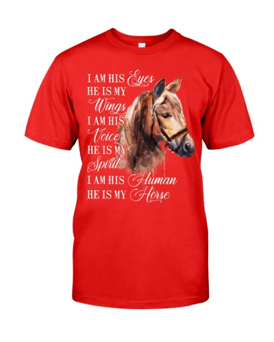Horse I am his eyes He is my wings