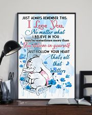 Elephant Just Always Remember This I Love You  16x24 Poster lifestyle-poster-2