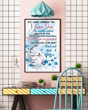 Elephant Just Always Remember This I Love You  16x24 Poster lifestyle-poster-6