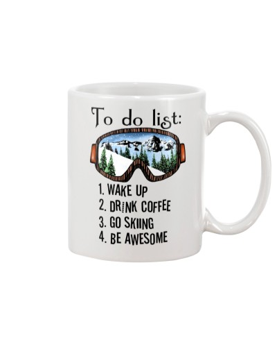 Skiing To do list