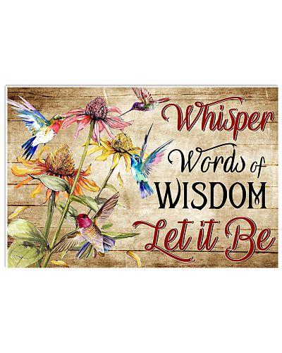 Hippie Whisper Word Of Wisdom
