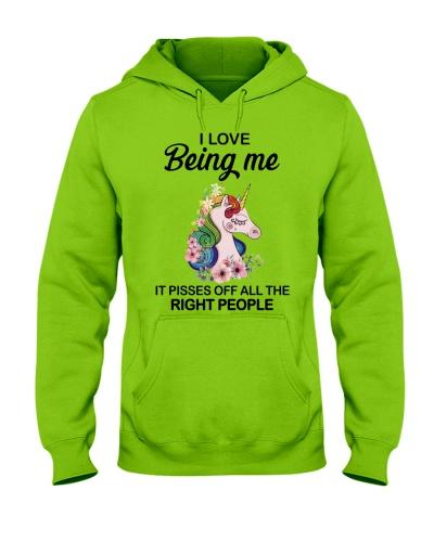 Unicorn I Love Being Me
