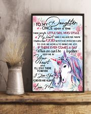 Unicorn To My Daughter Once Upon A Time 16x24 Poster lifestyle-poster-3
