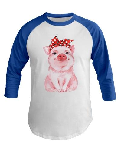 Pig Red Bandana