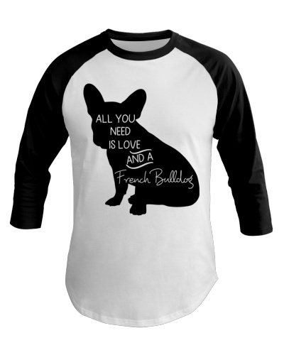 French BullDog All You Need Is Love