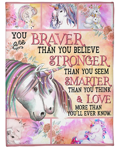 Baby Unicorn You are braver Than You Believe