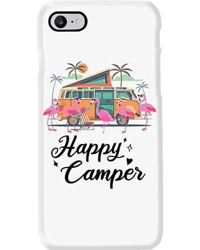 Flamingo Happy Camper