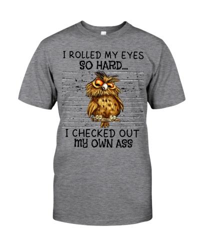 Owl I Roll My Eyes So Hard