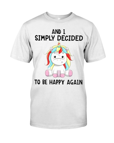 Unicorn And I Simply Decided