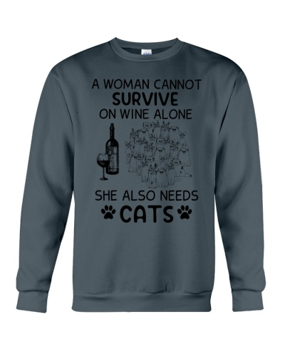 Cats A Woman Cannot Survive She Also Needs Cats