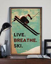 Live Breathe Ski 16x24 Poster lifestyle-poster-2