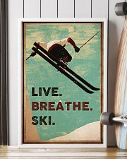 Live Breathe Ski 16x24 Poster lifestyle-poster-4