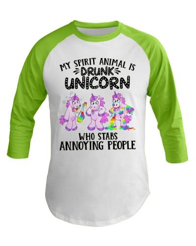 Unicorn My Spirit Animal Is Drunk Unicorn