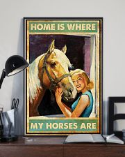 Horse Home Is Where  16x24 Poster lifestyle-poster-2