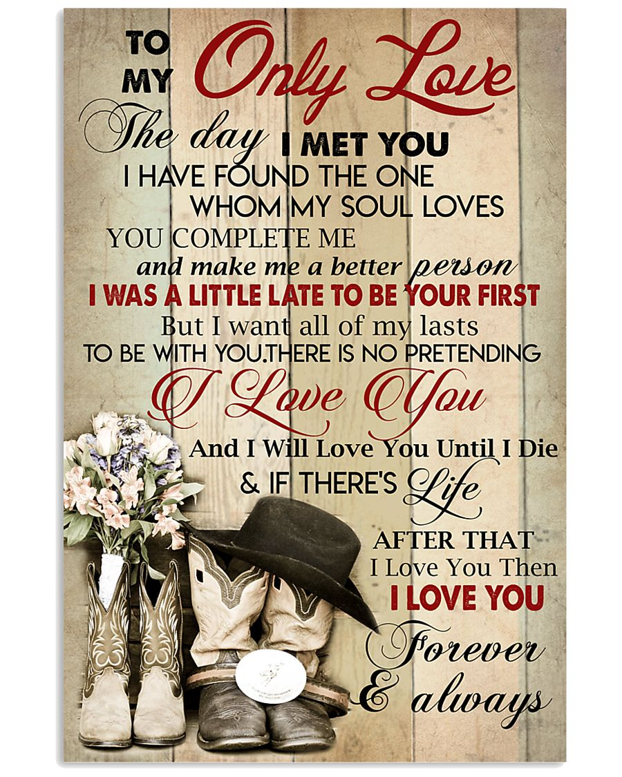 Country To My Only Love  16x24 Poster