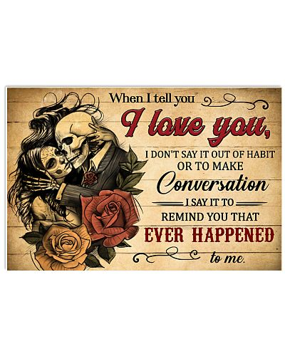 Skull When I Tell You I Love You
