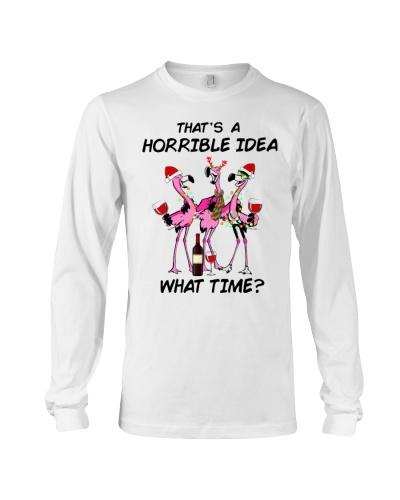 Flamingo That's A Horrible Idea