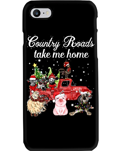 Farm Country Roads take me home Cattle chicken pig