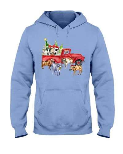 Cow Christmas Farmer's car Heifer Christmas Gift