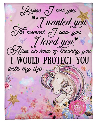 Baby Unicorn Before I met you