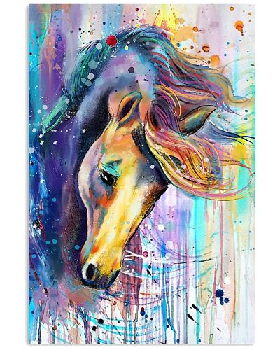 Horse Face Water Color