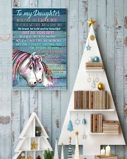 Unicorn To My Daughter Never Forget That I Love  16x24 Poster lifestyle-holiday-poster-2
