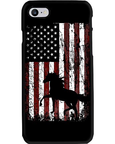 Horse Barn In The USA