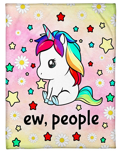 Unicorn Ew People Blanket