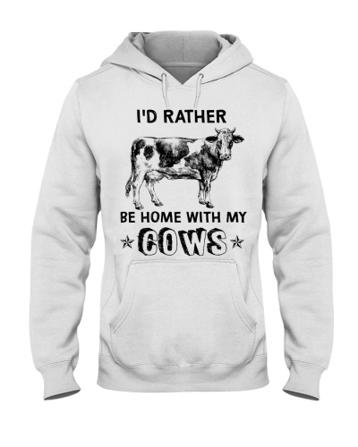 Cow I'D Rather Be Home With My Cows