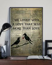 Raven We Loved With  16x24 Poster lifestyle-poster-2