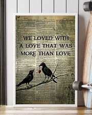 Raven We Loved With  16x24 Poster lifestyle-poster-4