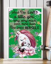 Baby Unicorn You are braver  Nursery Poster 11x17 Poster lifestyle-poster-4