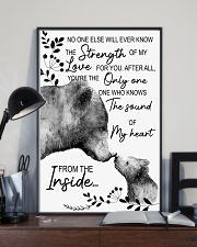 Bear No One Else Will Ever Know The Strenght 16x24 Poster lifestyle-poster-2