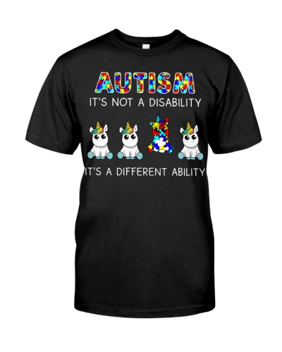 Unicorn Autism It's Not A Disability
