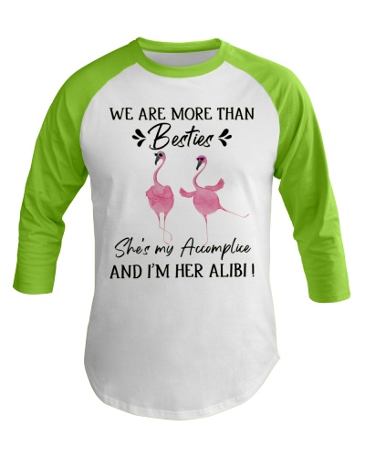 Flamingo We Are More Than Bestie