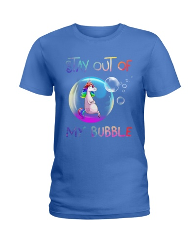 Unicorn Stay Out of My Bubble funny