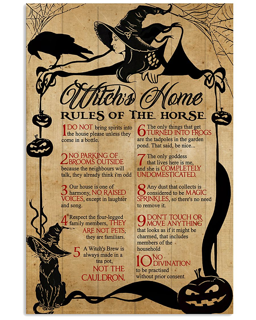 Witch Witches Home  16x24 Poster